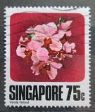 Poštovní známka Singapur 1979 Orchidej Mi# 328
