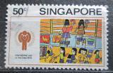 Poštovní známka Singapur 1979 Dětská kresba Mi# 337