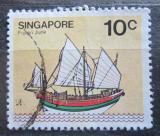 Poštovní známka Singapur 1980 Plachetnice Mi# 344