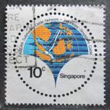 Poštovní známka Singapur 1980 Mapa Mi# 362