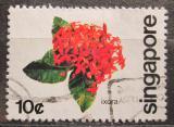 Poštovní známka Singapur 1980 Ixora Mi# 369