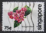 Poštovní známka Singapur 1980 Bugenvilea Mi# 372