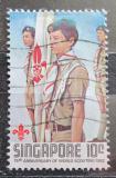 Poštovní známka Singapur 1982 Skauti Mi# 410