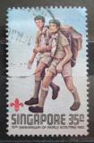 Poštovní známka Singapur 1982 Skauti Mi# 411