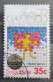 Poštovní známka Singapur 1983 Jihoasijské hry Mi# 423
