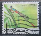 Poštovní známka Singapur 1985 Ceriagrion cerinorubellum Mi# 463