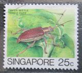 Poštovní známka Singapur 1985 Donacia javana Mi# 467