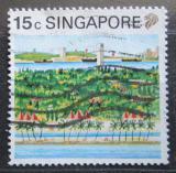 Poštovní známka Singapur 1990 Sentosa Mi# 599