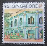 Poštovní známka Singapur 1990 Náměstí Peranakar Mi# 606