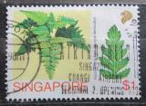 Poštovní známka Singapur 1990 Davallia denticulata Mi# 618