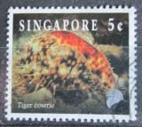 Poštovní známka Singapur 1994 Zavinutec tygrovaný Mi# 710