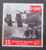 Poštovní známka Velká Británie 1994 Den D Mi# 1517