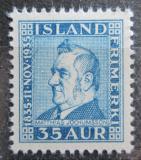 Poštovní známka Island 1935 Matthías Jochumsson, básník Mi# 186