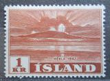 Poštovní známka Island 1948 Sopka Hekla Mi# 252 Kat 17€