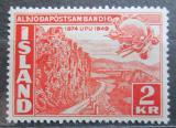 Poštovní známka Island 1949 UPU, 75. výročí Mi# 262