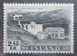 Poštovní známka Island 1956 Elektrárna Andakilsár Mi# 308 Kat 10€