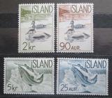 Poštovní známky Island 1959 Fauna Mi# 335-38 Kat 7.50€