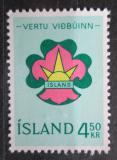 Poštovní známka Island 1964 Skauting Mi# 379