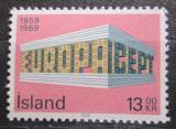 Poštovní známka Island 1969 Evropa CEPT Mi# 428