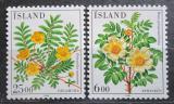 Poštovní známka Island 1984 Květiny Mi# 612-13