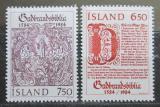 Poštovní známky Island 1984 Bible Mi# 626-27