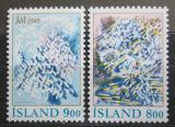 Poštovní známky Island 1985 Vánoce Mi# 642-43