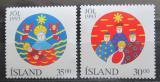 Poštovní známky Island 1993 Vánoce Mi# 795-96