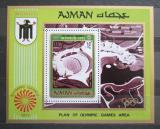 Poštovní známka Adžmán 1971 Olympijský stadión Mnichov Mi# Block 234 Kat 8.50€