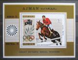 Poštovní známka Adžmán 1971 LOH, Hans Winkler Mi# Block 327 A