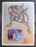 Poštovní známka Adžmán 1971 Divadlo Kabuki Mi# Block C 317