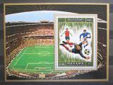 Poštovní známka Manáma 1971 Fotbal Mi# Block 139 A