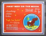 Poštovní známka Manáma 1969 Apollo 11 Mi# Block 37 Kat 11€