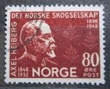 Poštovní známka Norsko 1948 Axel Heiberg Mi# 337