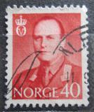 Poštovní známka Norsko 1958 Král Olav V. Mi# 420