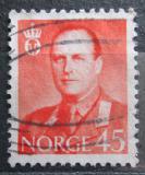 Poštovní známka Norsko 1958 Král Olav V. Mi# 421