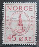 Poštovní známka Norsko 1960 Královská vědecká společnost, 100. výročí Mi# 440