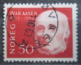 Poštovní známka Norsko 1963 Ivar Aasen, básník Mi# 496