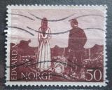 Poštovní známka Norsko 1963 Dřevořezba, Edvard Munch Mi# 510