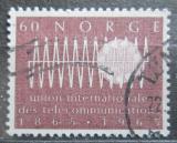 Poštovní známka Norsko 1965 ITU, 100. výročí Mi# 526