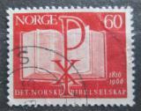 Poštovní známka Norsko 1966 Bible Mi# 541