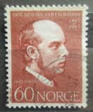 Poštovní známka Norsko 1967 Lars Skefsrud, misionář Mi# 559
