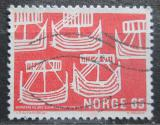Poštovní známka Norsko 1969 Plachetnice Mi# 579