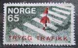Poštovní známka Norsko 1969 Bezpečnost silničního provozu Mi# 582