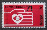 Poštovní známka Norsko 1971 Pomoc uprchlíkům Mi# 624