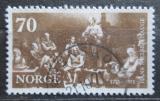 Poštovní známka Norsko 1971 Umění, Adolph Tidemand Mi# 626
