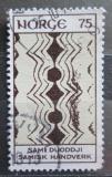 Poštovní známka Norsko 1973 Umění z Laponska Mi# 668
