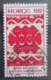 Poštovní známka Norsko 1973 Umění z Laponska Mi# 669