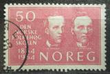 Poštovní známka Norsko 1964 Osobnosti Mi# 522