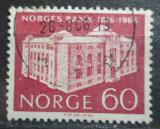 Poštovní známka Norsko 1966 Národní banka Mi# 544