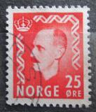 Poštovní známka Norsko 1950 Král Haakon VII. Mi# 358